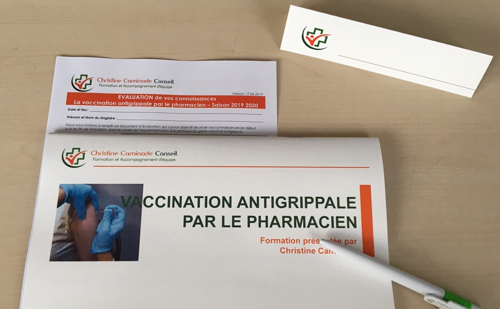 Formation Vaccination Par Le Pharmacien Documents Table